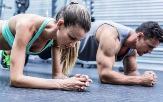 allenamento fitness in palestra