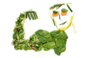 vegetarismo e culturismo